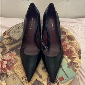 Zara black pumps heels